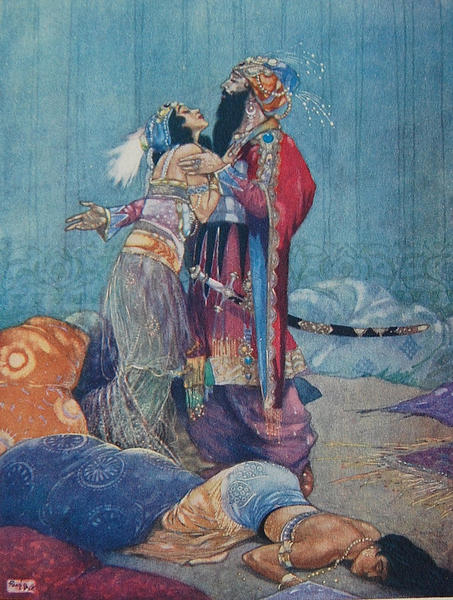 The Story Of King Shahryar And Shahrazad