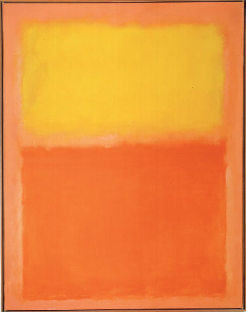 Rothko-Orange and Yellow