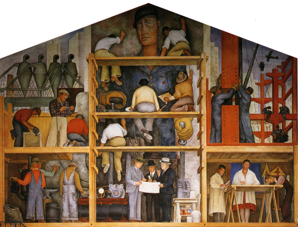 Diego Rivera Making of a Mural