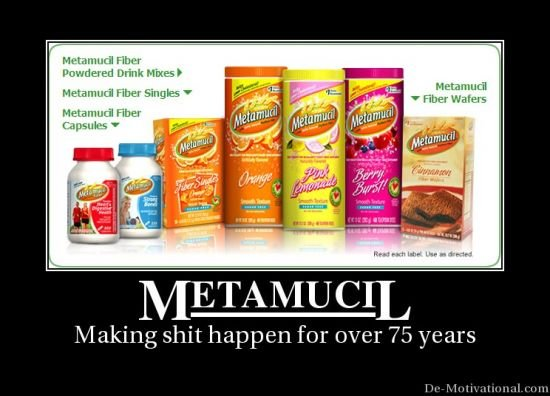 Metamucil: Making Meta-Shit Happen