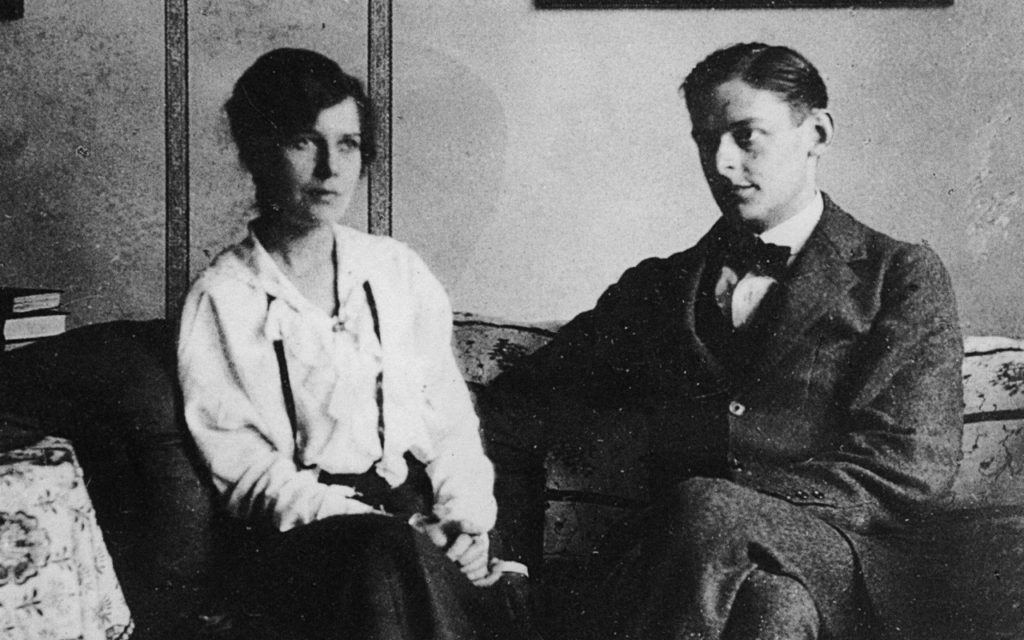T S Eliot and Vivien Eliot