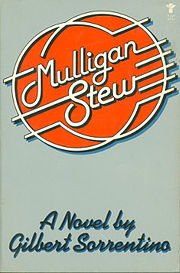 Gilbert_Sorrentino,_Mulligan_Stew,_cover